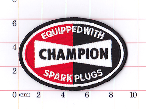 CHAMPION EQUIPPED WITH SPARK PLUGS